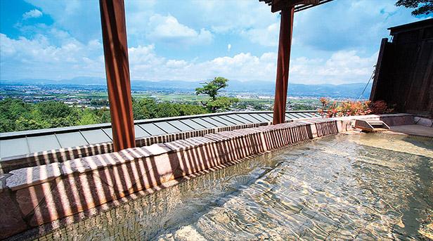 みのう山荘 露天風呂